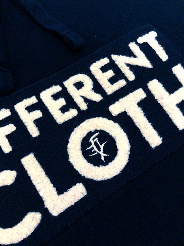 Image of Different Cloth Hoodie - Black