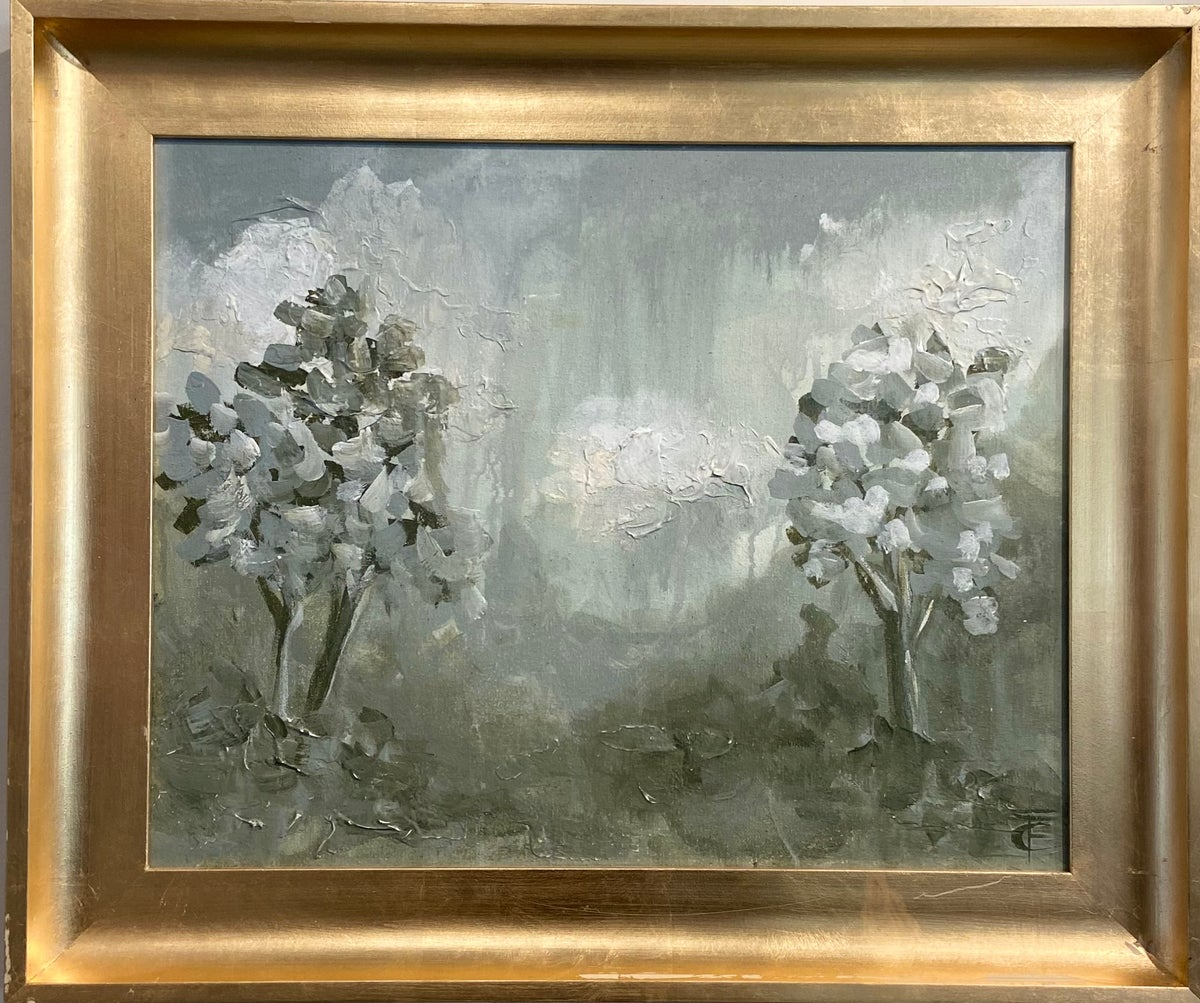 Image of Abstract Tree Landscape 16x20