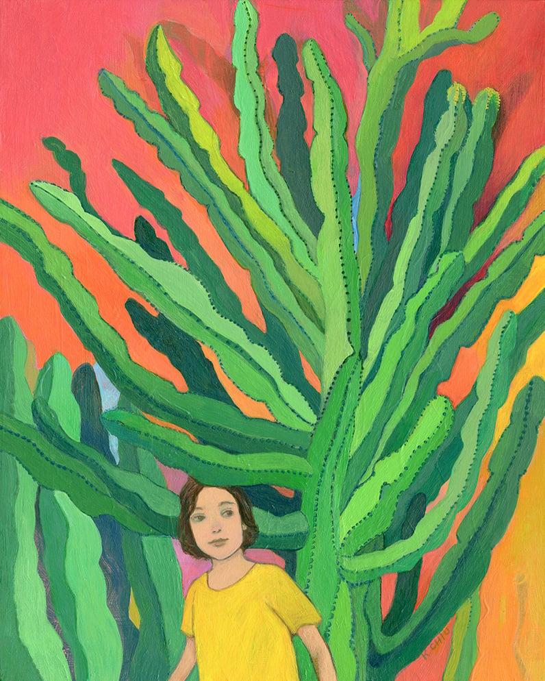 Image of Candelabra Tree Print