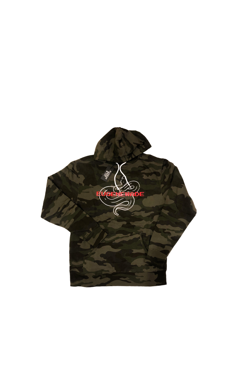 CAMOUFLAGE SNAKE HOODIE