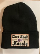 Image of HASSLE patch beanie