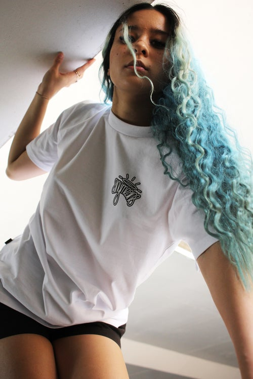 Image of Halo tee in White