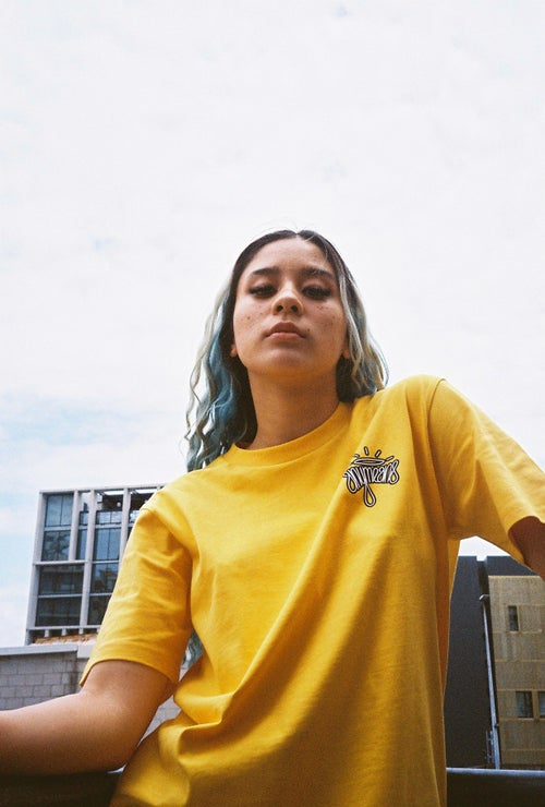 Image of Halo Tee in Deep Yellow
