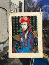 David Bowie Silkscreen Print
