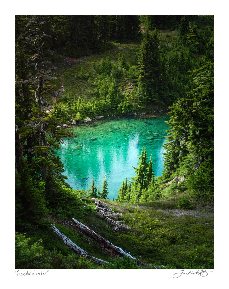 """Image of """"The Color of Water"""" Print"""