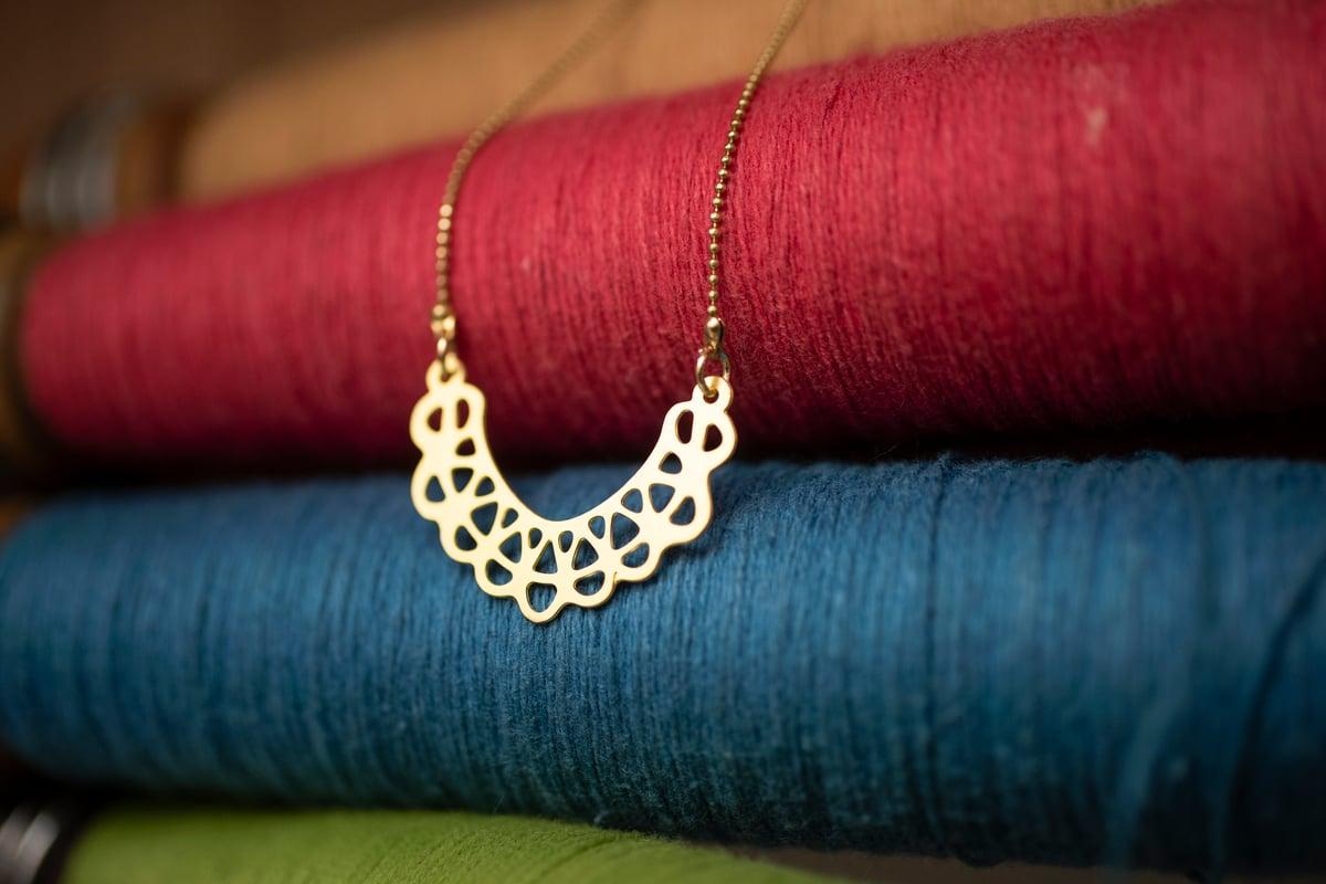 Image of Brass RBG Collar #2