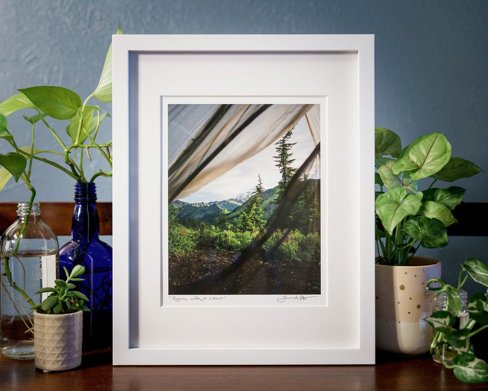 "Image of ""A Room With a View"" Print"