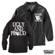 "Image of SHEER TERROR ""Ugly And Proud"" Windbreaker Jacket"