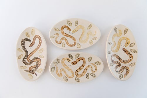 Image of Snake Lovers Plates no. 3