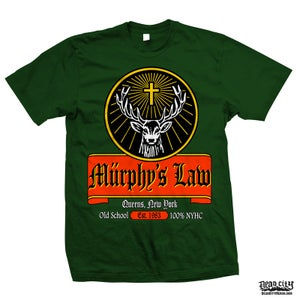 "Image of MURPHY'S LAW ""Jägermeister"" T-Shirt"