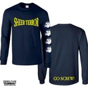 "Image of SHEER TERROR ""Go Screw!"" Long Sleeve T-Shirt"