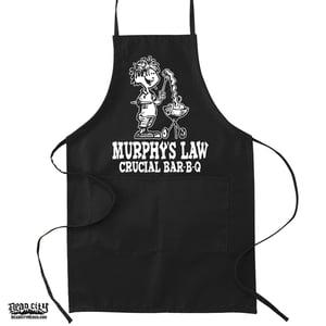 "Image of MURPHY'S LAW ""Crucial Bar-B-Q"" Apron"