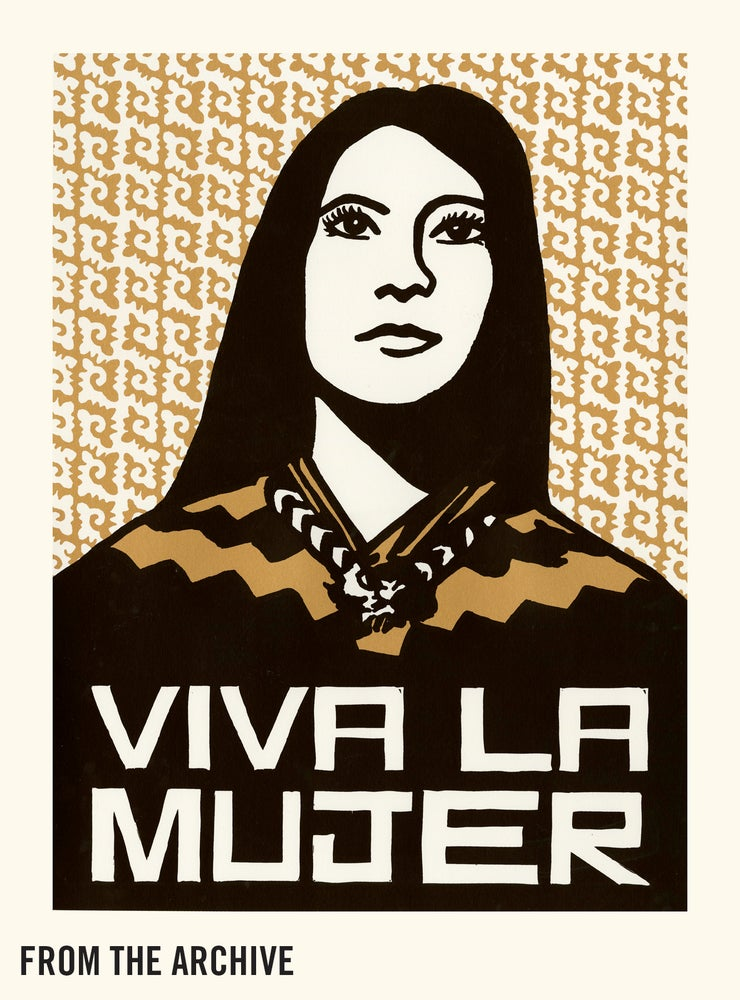 Image of Viva La Mujer (2015, Bronze & Dark Brown Test Print)
