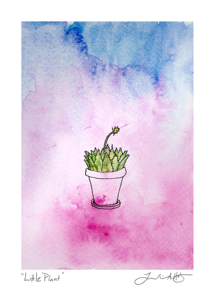 "Image of ""Little Plant"" 5x7 Print"