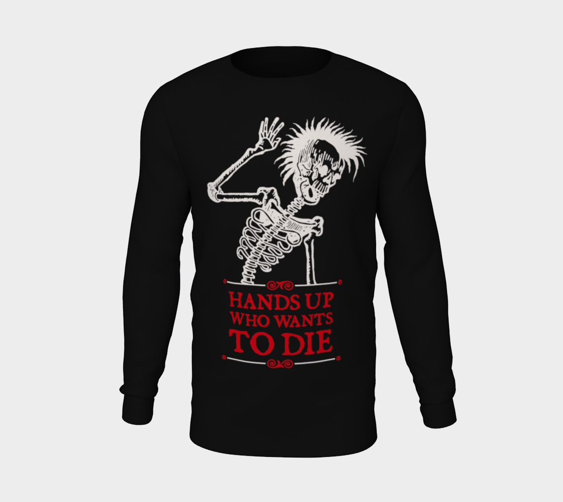 Image of Hands Up! Long Sleeve Shirt