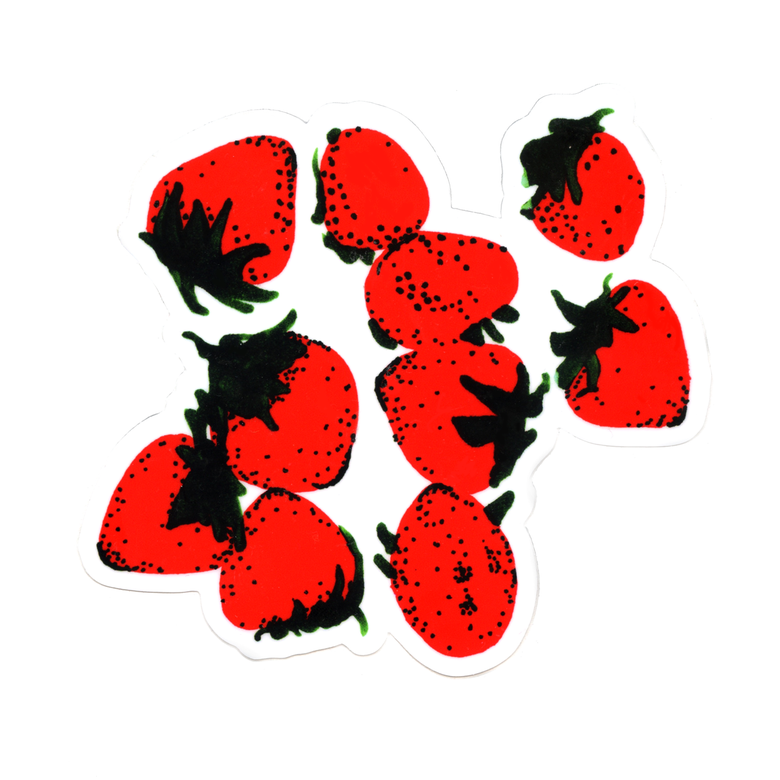 Image of XL Strawberries Sticker