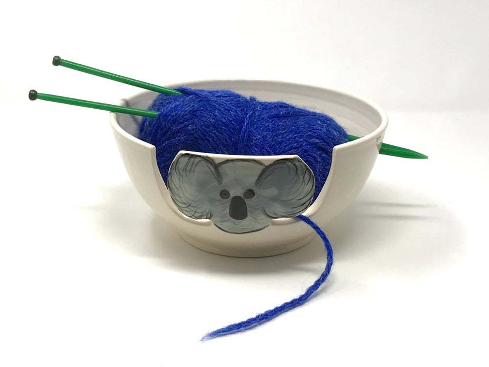 Image of Large Koala Yarn Bowl