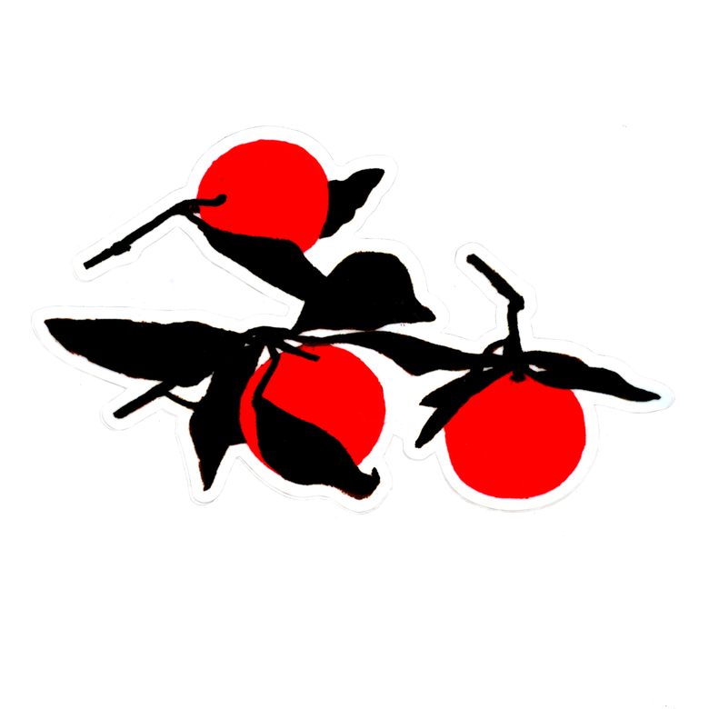 Image of XL Red Fruit Sticker