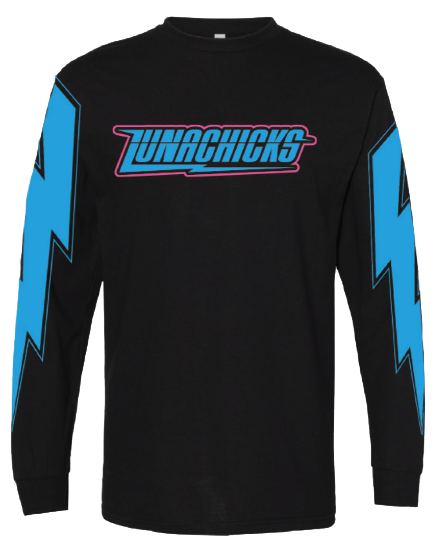 "LUNACHICKS ""LIGHTNING BOLT"" LONGSLEEVE T-SHIRT"