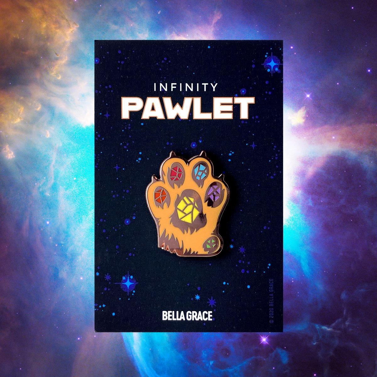 Image of Infinity Pawlet Enamel Pin