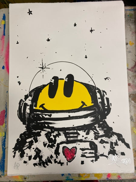 Image of SPACE CADET SKETCH PORTRAIT