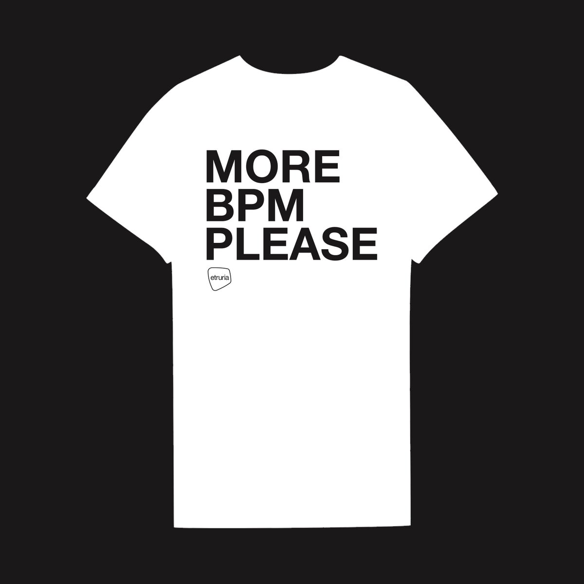 Image of T-SHIRT WHITE BPM