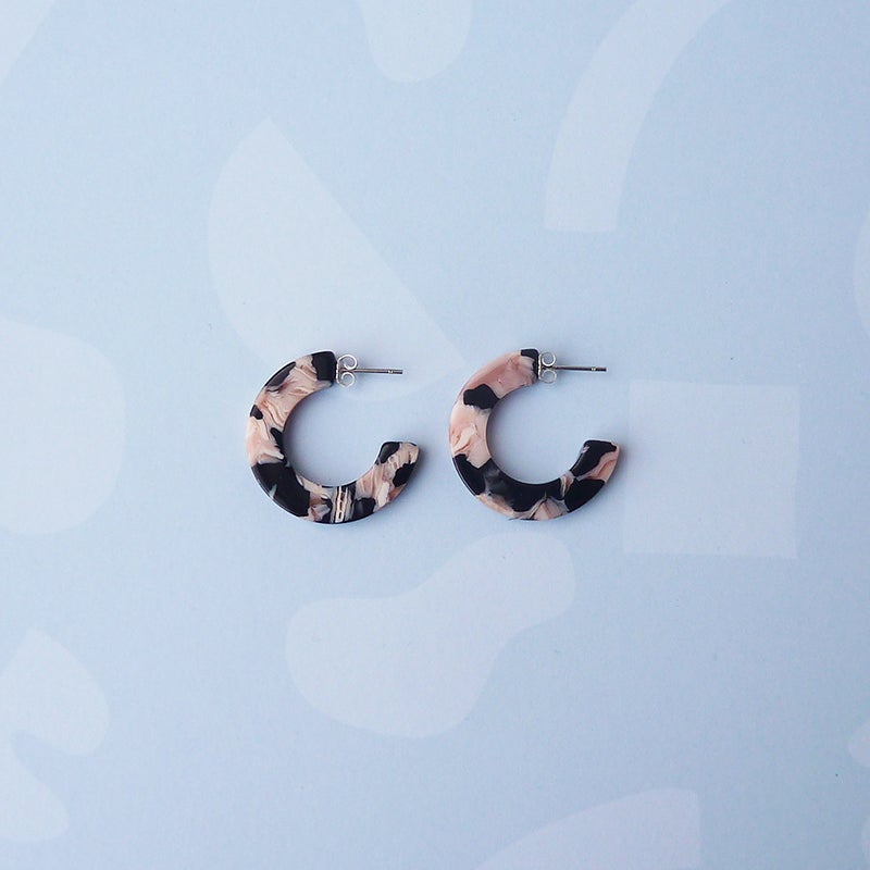 Image of *NEW* Rosea Mini Hoops