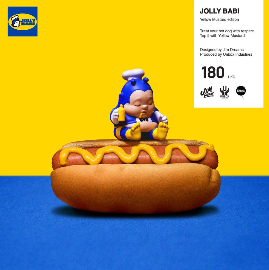 Image of JOLLY BABI YELLOW MUSTARD EDITION