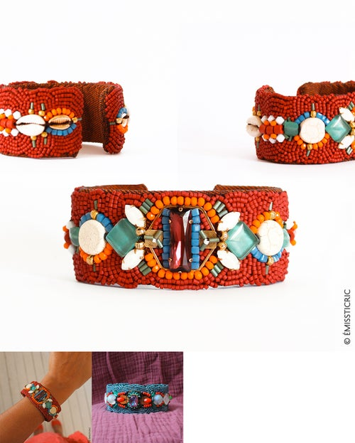 Image of Bracelets manchettes