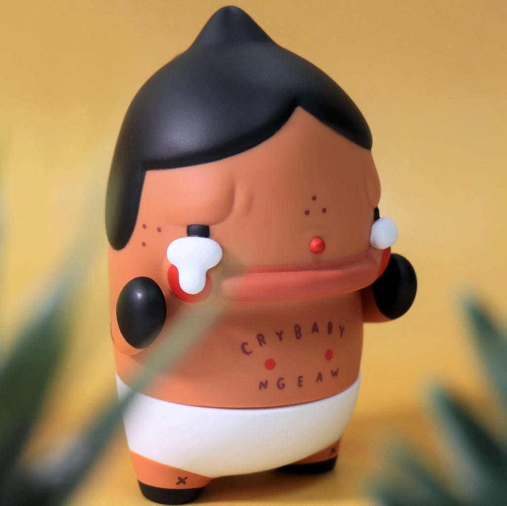 Image of CRYBABY DINO BY NGAEW & MOLLY'S FACTORY