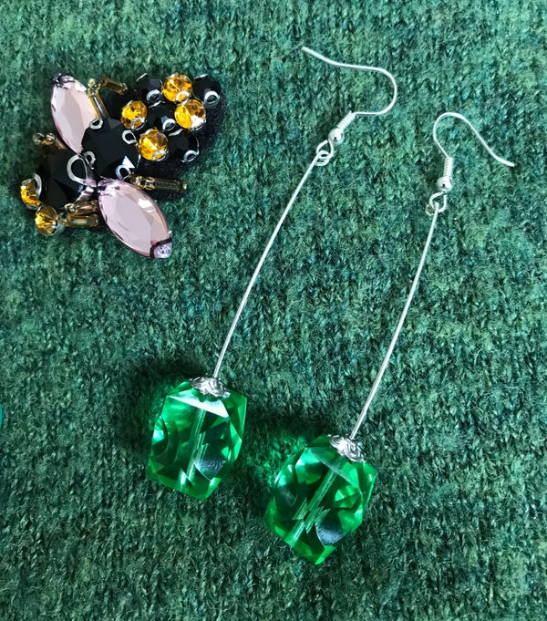 Image of Green with Envy earrings