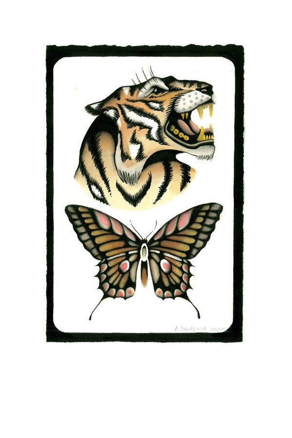 Tiger and butterfly - proyecto eclipse