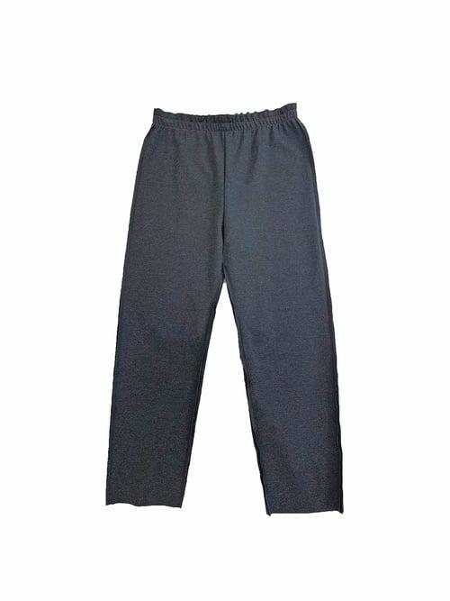 Image of  OF1 Trouser - Organic Cotton - Dark grey melange