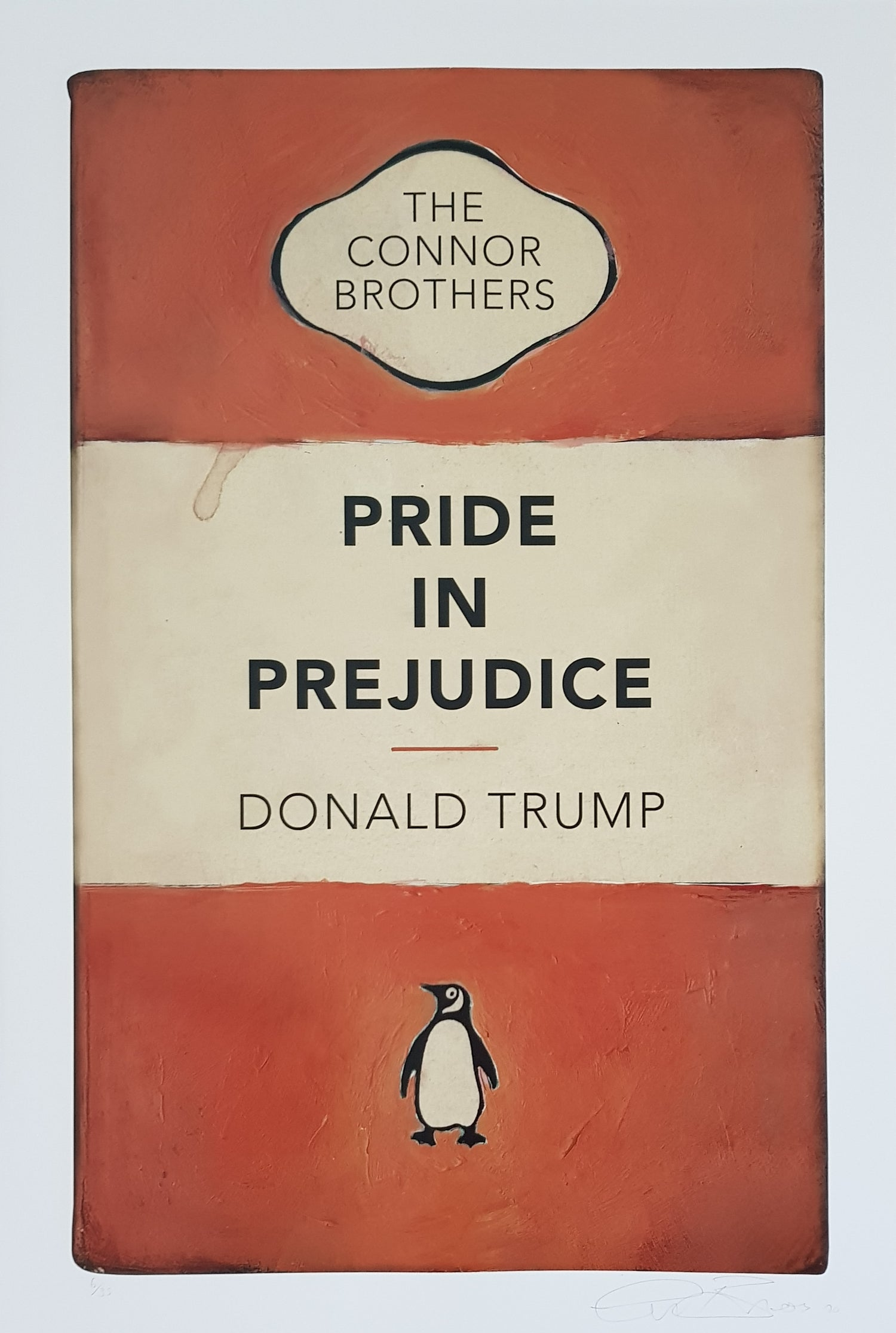 """Image of THE CONNOR BROTHERS - """"PRIDE IN PREJUDICE"""" - LIMITED EDITION 35 - 50CM X 75CM"""