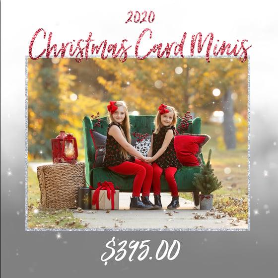 Image of {FRIDAY, NOVEMBER 27, 2020} CHRISTMAS CARD MINI SESSIONS
