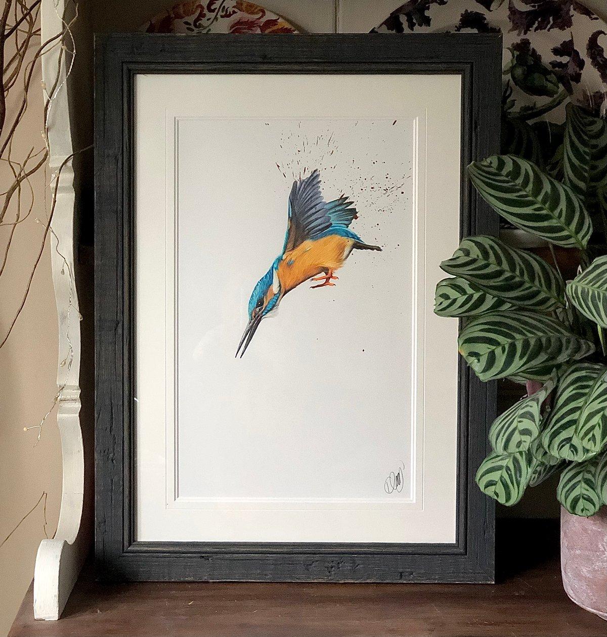 Image of 'Dive' Original Drawing