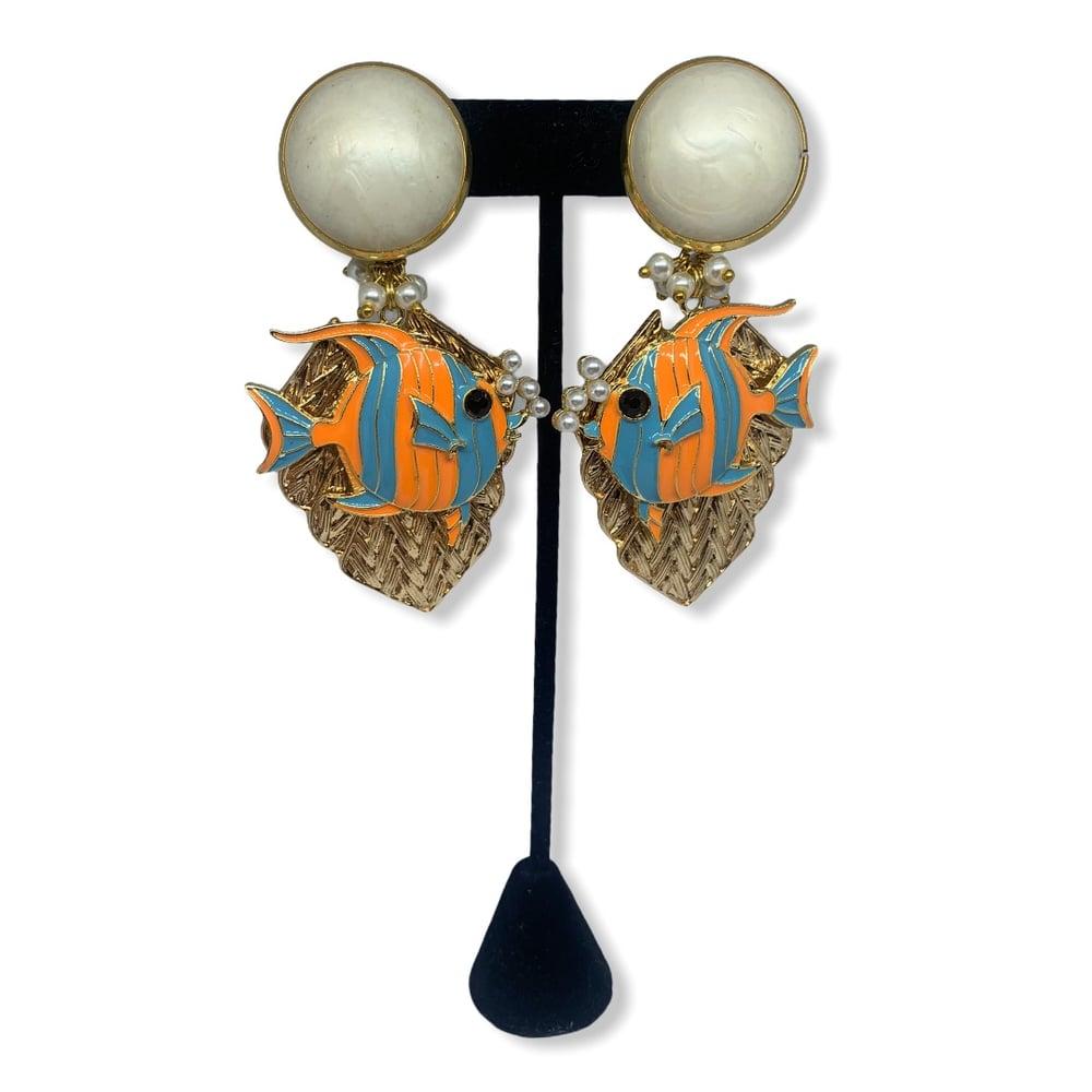 Image of Cutest Fish earrings