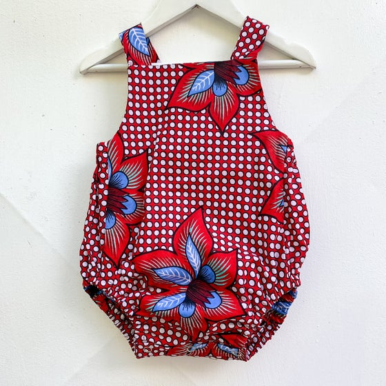Image of Frippe Romper in Polka