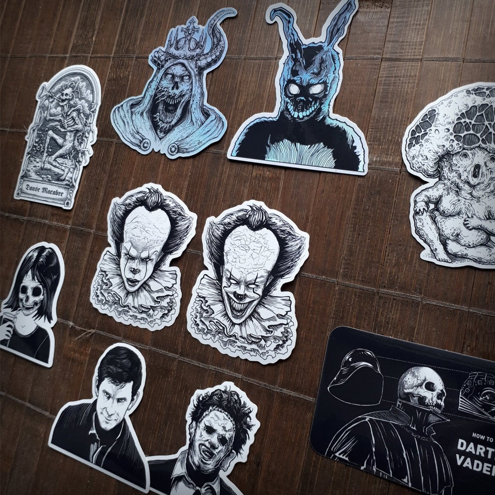 Image of 10 Sticker Pack