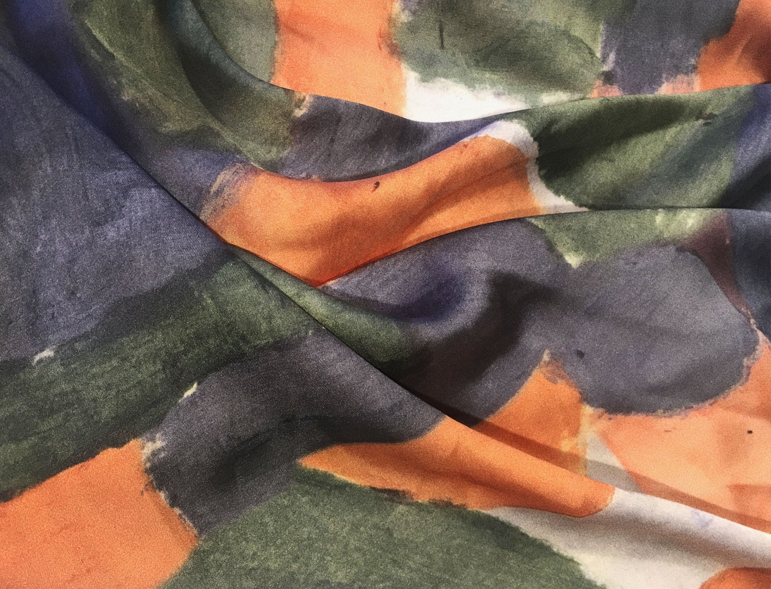 Image of COLOR PAINT SCARF