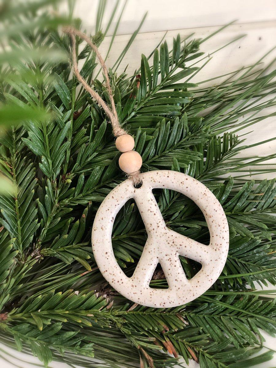 Image of Peace Ornament