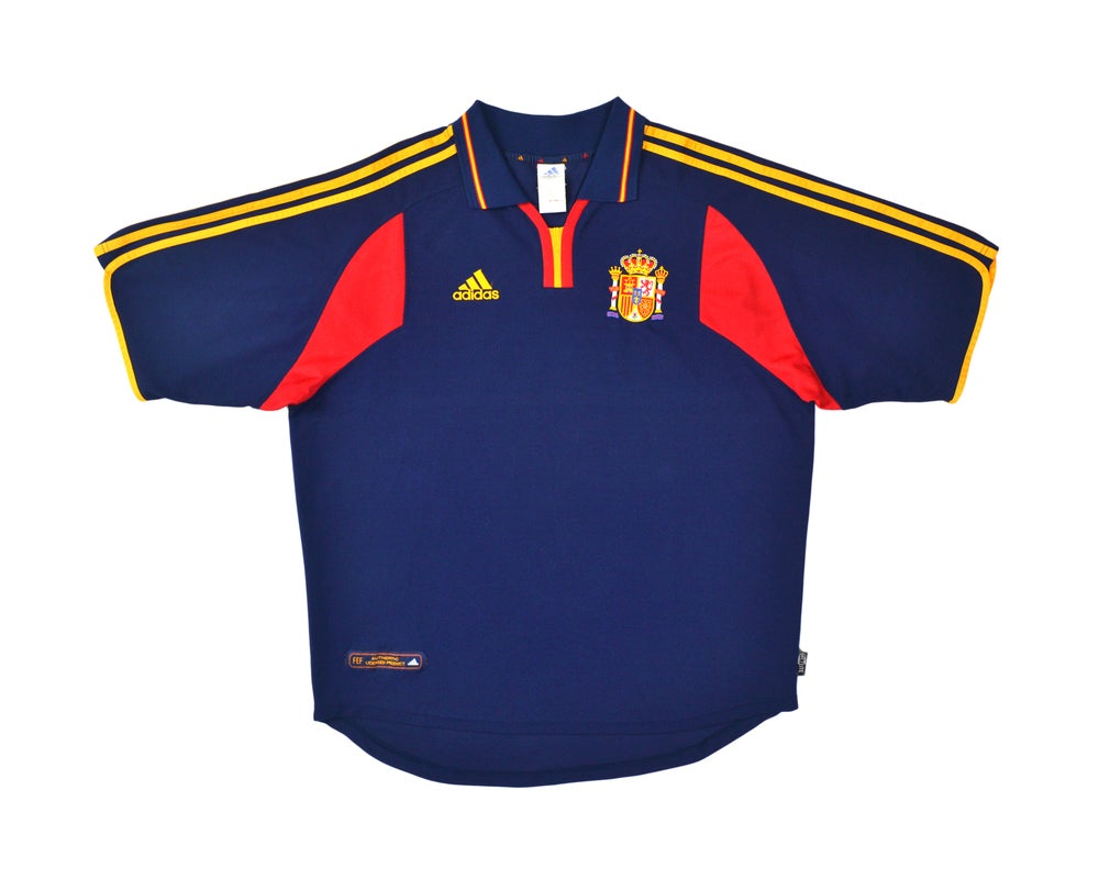 Image of 2000-02 Adidas Spain Away Shirt XL