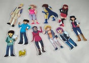 Image of Dumbing of Age character magnet set of 11