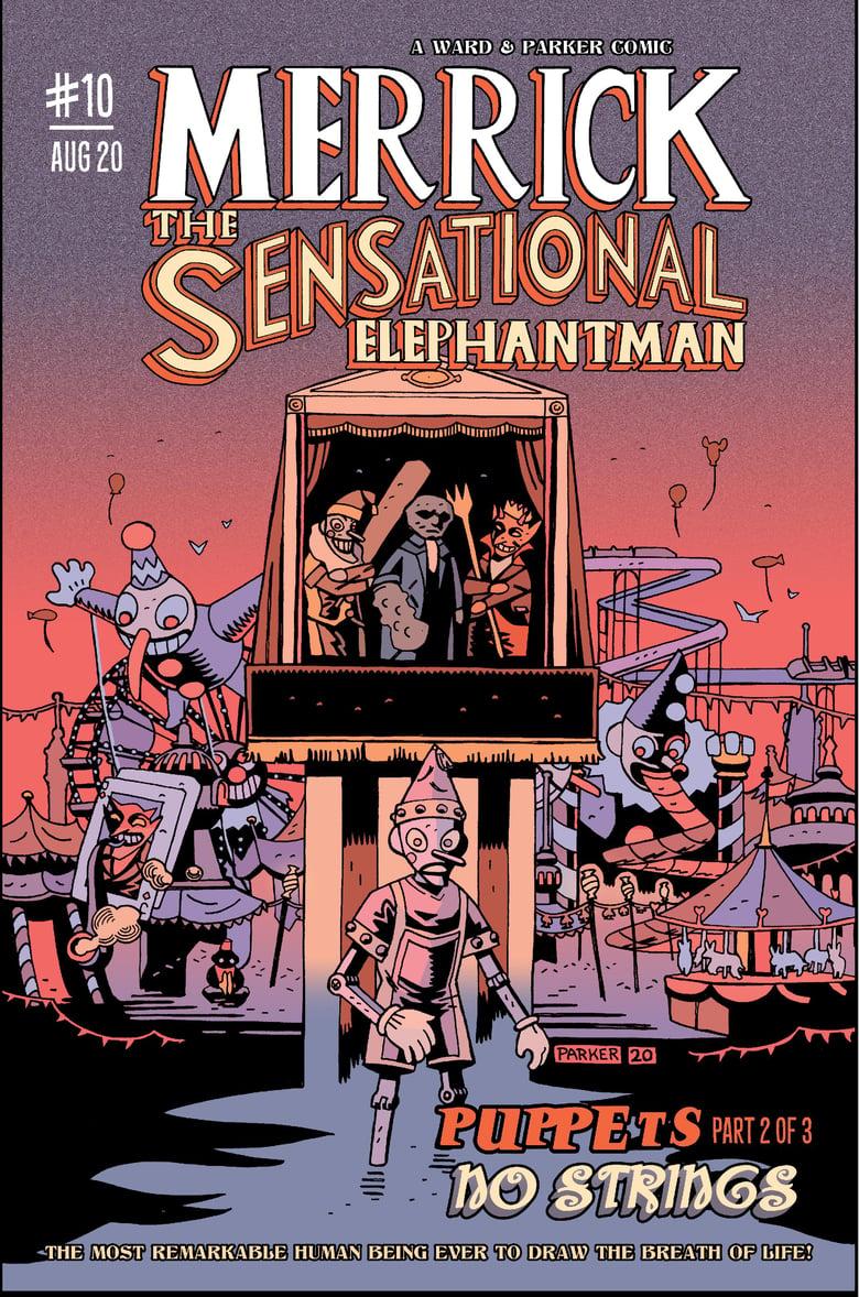 Image of Merrick: The Sensational Elephantman #10