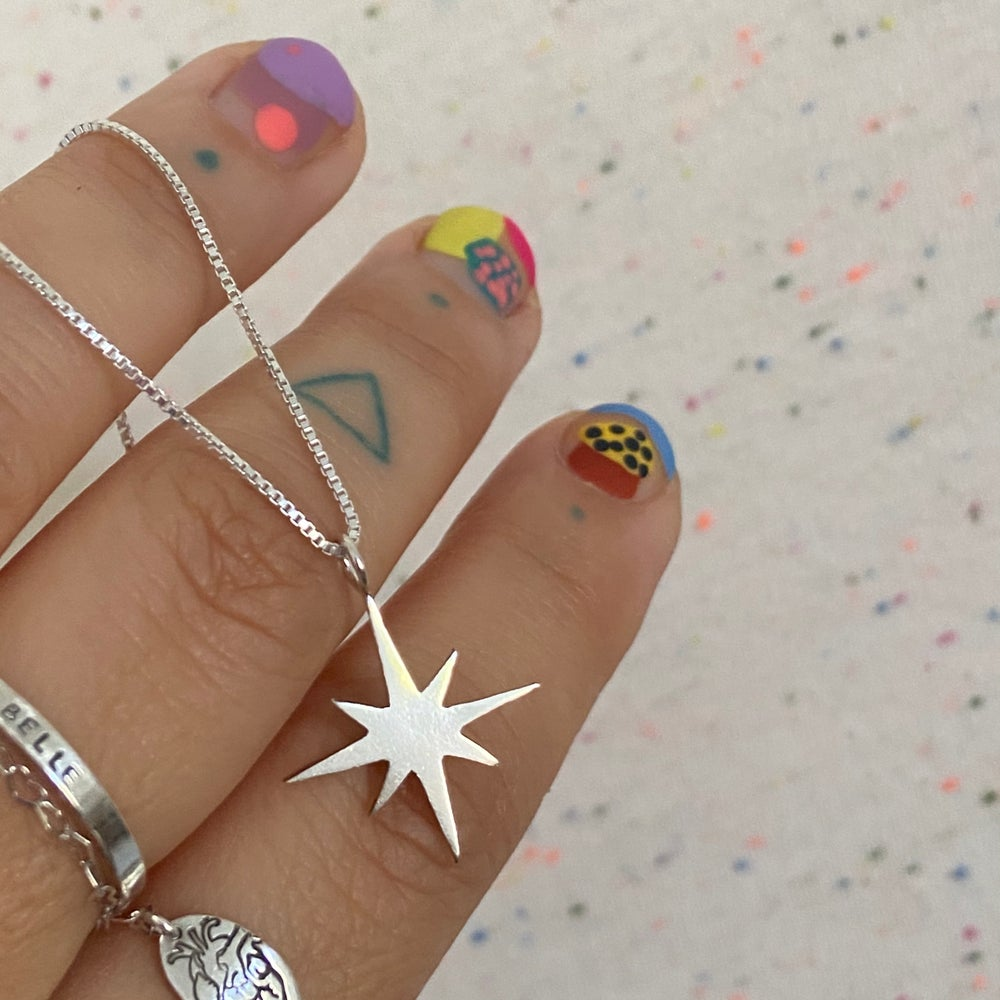 Image of big star necklace