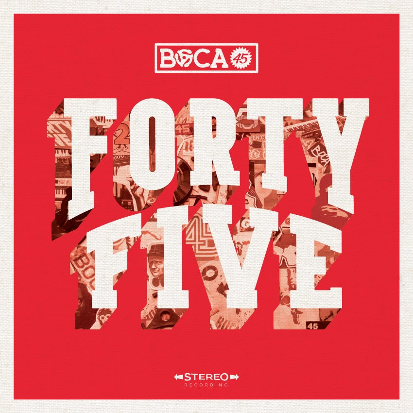 """Image of Boca 45 """"Forty Five"""" LP - Mass Appeal Records"""