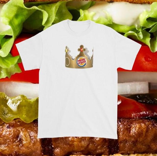 """Image of 2020 Menu Items """"Crown"""" Tee."""