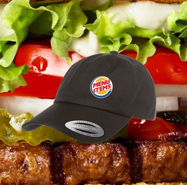 Image of 2020 Menu Items Employee Strapback Hat.
