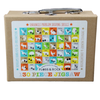 130 Piece Animal Jigsaw Puzzle in Suitcase