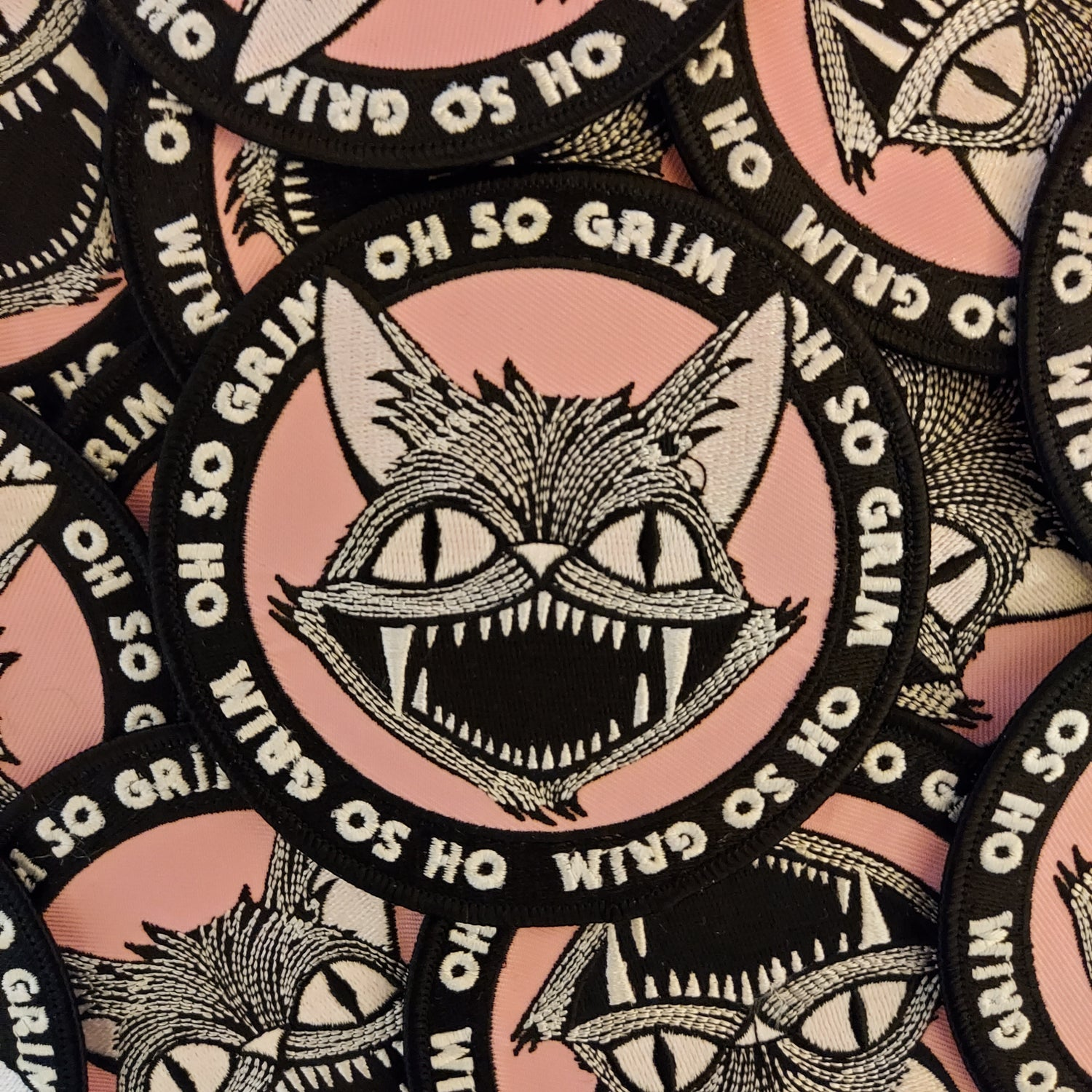 Image of Spooky Cat Patch w/ Free UK shipping!